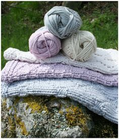 (Wasch)Lappenparade & Anleitung - Knitted Cloths & Free Pattern (German)
