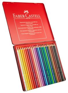 Sharing Faber-Castell Colour GRIP Colouring Pencils (Pack of 24) from WHSMITH