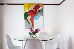 Fresh and bright #art #abstract #fresh #homedecor