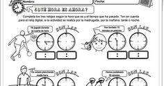 """Cuadernillo """"¿Qué hora es ahora?"""" (Medida del Tiempo de Primaria). Sergio Palao. Actiludis."""