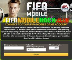 FIFA Mobile Hack - How to Get Unlimited Coins and Fifa Points and Coins and Fifa Points Fifa Online, Mobile Generator, Point Hacks, App Hack, Game Resources, Website Features, Test Card, Hack Online, Mobile Game