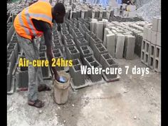 In the previous episode we revealed the factors responsible for the production of substandard cement blocks; in this episode we will be visiting a block-maki. Construction Business, Episode 3, Survival Skills, Cement, Technology, Youtube, How To Make, Paper, Tech