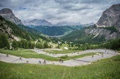 Bike free 30 miles Italian Dolomites Bike Blog: Sellaronda Bike Day