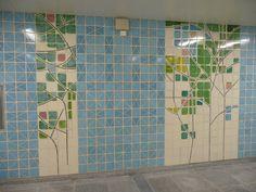 MARIA KEIL (1914-2012) Estação de Metropolitano de São Sebastião, Lisboa