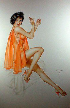 Vargas Girl - Playboy 1961