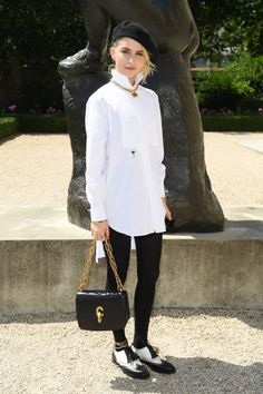 81ecf8a7c87a Caroline Daur attends the Christian Dior Haute Couture Fall Winter show as  part of Paris Fashion Week on July 2 2018 in Paris France