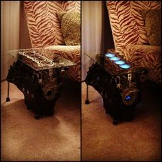 Glow engine table