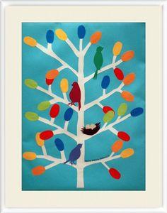 Items similar to Birds Wall Art- light blue, multi-colored on Etsy Light Art, Light Blue, Bird Wall Art, My Etsy Shop, Kids Rugs, Birds, Creative, Handmade, Vintage