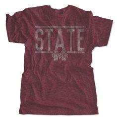 Vintage Miss State Bulldogs Logo T-Shirt Mississippi State Bulldogs, Sport T Shirt, Dress First, Tees, Sports, Mens Tops, Logo, Vintage, Hs Sports