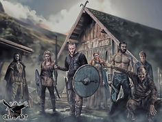 VIKINGS the series by thecasperart on DeviantArt