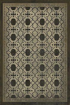 pattern 31 rajha - vintage vinyl floor clothsspicher&co