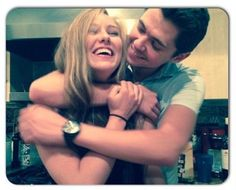 damianmcginty: First candid photo ever. Only took 5 hours. Happy birthday to the sweetest girl I've ever met. @ac1233 ❤️
