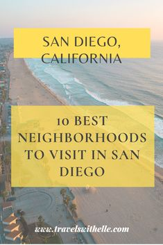 This guide features my favorite San Diego neighborhoods to visit, and my goal is to give you all the information you need so that you can make the most of your time in SD and eat all the best foods!