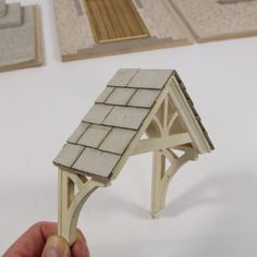 8 Prepared Cool Tips: Copper Porch Roofing roofing terrace patio. Dollhouse Tutorials, Diy Dollhouse, Dollhouse Miniatures, Miniature Houses, Miniature Dolls, Miniature Furniture, Dollhouse Furniture, Modern Roofing, House With Porch