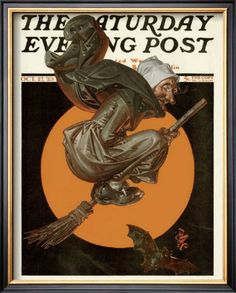 The Saturday Evening Post (October 27, 1923) by J.C. Leyendecker …