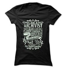 Job Title Archivist T-Shirts, Hoodies. CHECK PRICE ==►…