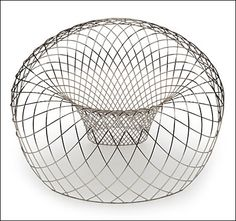 Reverb Wire Chair designed by Brodie Neill at Milan Furniture Fair 2012 Milan Furniture, Design Furniture, Chair Design, Cool Furniture, Design Design, Furniture Chairs, Furniture Stores, Creative Design, Furniture Inspiration