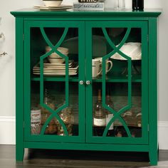 Windham Accent Cabinet with Drawer Teal - Thresh... : Target ...