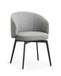 Restyle your living room with an armchair: Flexform Mood, small armchair Frida