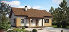 Z253 to wyjątkowy dom z kategorii projekty domów jednorodzinnych Small House Design, Design Case, Home Fashion, Gazebo, House Plans, Sweet Home, Outdoor Structures, Cabin, Studio