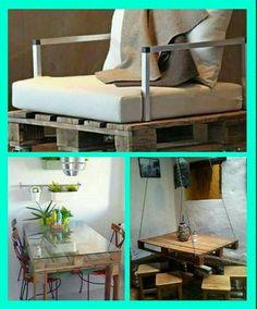 Muebles hechos con palets 2 muebles hechos con for Muebles de jardin hechos con tarimas