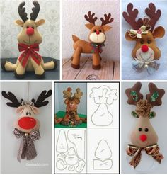 1 million+ Stunning Free Images to Use Anywhere Elf Christmas Decorations, Christmas Crafts To Make, Felt Christmas Ornaments, Christmas Sewing, Christmas Projects, Holiday Crafts, Theme Noel, Christmas Templates, Christmas Paintings