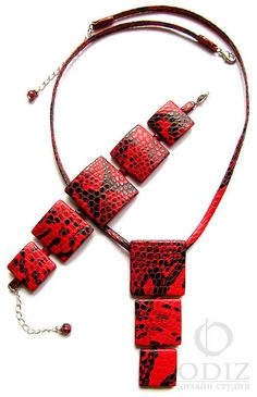 Комплект из кожи Путь Мудрости - комплект украшений,кожаный браслет,кожа