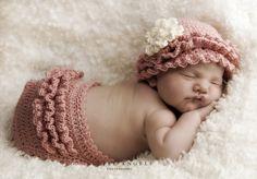 Ruffled Diaper Cover Crochet Pattern