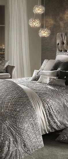 Esta Duvet Cover | Modern Glam Decorating