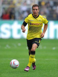 Mario Gotze, Borussia Dormund.