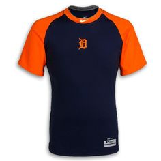Detroit Tigers 2012 Pro-Combat ROAD Short Sleeve Fitted Tee by Nike - Detroit Tigers Men's T-shirts - Detroit Tigers Men's Shop - Detroit Tigers - Detroit Athletic