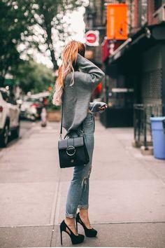Luanna Perez, Le Happy, Dark Fashion, Style Icons, Amazing Women, Layers, Punk, Purses, Wordpress
