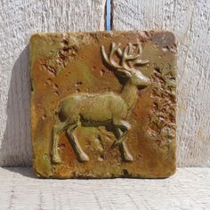 6x6 Accent Tile  Deer  More colors available by GrandSpaces, $10.00