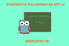 Studirajte italijanski jezik na MIT-u, besplatno je! Learning Italian, Education, Character, Professor, Learn Italian Language, Teaching, Onderwijs, Lettering, Learning