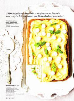 ET lehdessä (03/2013) herkullinen porkkanakakun ohje sekä lusikallinen hyvää mieltä