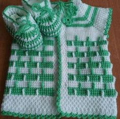 This Pin was discovered by Seh Baby Knitting Patterns, Baby Cardigan Knitting Pattern Free, Knitting Designs, Crochet Patterns, Baby Sweaters, Girls Sweaters, Tunisian Crochet, Knit Crochet, Baby Vest