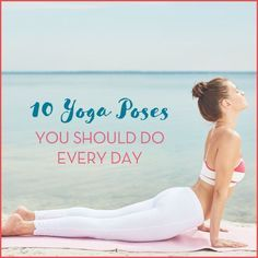 Use these 10 gentle poses to unwind and stretch after a long day.