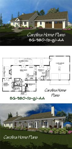 images of small contemporary cottage see floorplan views to easily choose small contemporary cottage open floor home plan with house plan images. 3d House Plans, Cottage House Plans, Small House Plans, Cottage Homes, Contemporary Cottage, Basement Bedrooms, Cost Saving, Bedroom Layouts, Open Floor