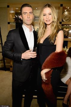 Loved up:The musician and his model love (pictured December) were wed in July 2014 in Los Cabos, Mexico