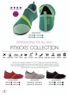 Grey & Purple FitKick Shoes