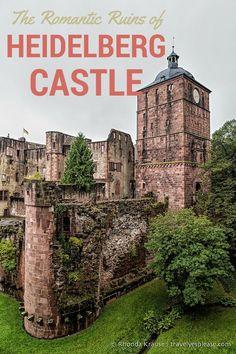 The Romantic Ruins of Heidelberg Castle (Blog Post) | Heidelberg, Germany