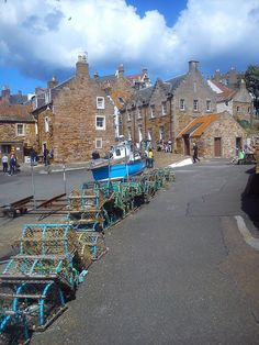 Crail, Fife. Photo by J. Wright.