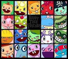 i love happy tree friends! :)