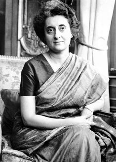 Indira Gandhi She was the only female Prime Minister of India (years in office: Due to her popular surname, she is often mistaken to be the daughter of Mahatma Gandhi, when in fact, her father was India's first PM,. Indira Gandhi, History Of India, Women In History, Mahatma Gandhi, First Prime Minister, Sonia Gandhi, Happy Woman Day, India Facts, History Quotes