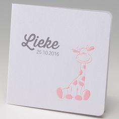 Geboortekaart - Giraf :: Belarto www.belarto.be