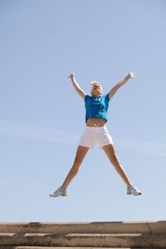 How to Do a Star Jump Exercise- Oohhh so thats what a star jump is! They are NOT jumping jacks lol
