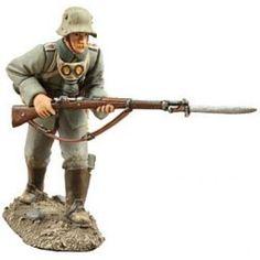German Infantry Advancing-1916 No1