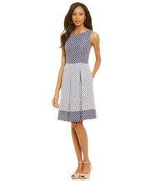 Alex Marie Berry Blast Rilla A-line Dress