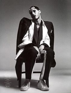 'Fantasy' (Vogue Hommes Fall/Winter 2012), David Alexander Flinn shot by Willy Vanderperre and styled by Olivier Rizzo.