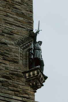 We take in the William Wallace Museum and check our Stirling, Scotland. We also get ready to head to Ireland as we continue our tour with Contiki. Stirling Scotland, William Wallace, Pretty And Cute, Statue Of Liberty, Ireland, This Is Us, Museum, Tours, Check